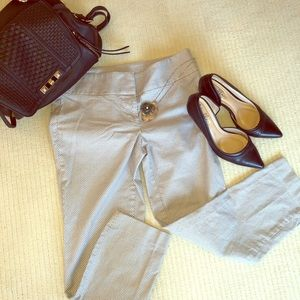 Loft Straight Ankle Dress Pants